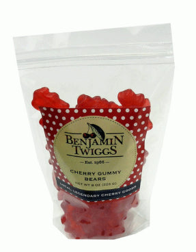 Cherry Gummy Bears 8oz