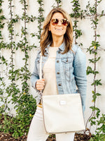 Grand Traverse Bay Crossbody (Cream) - Lifestyle