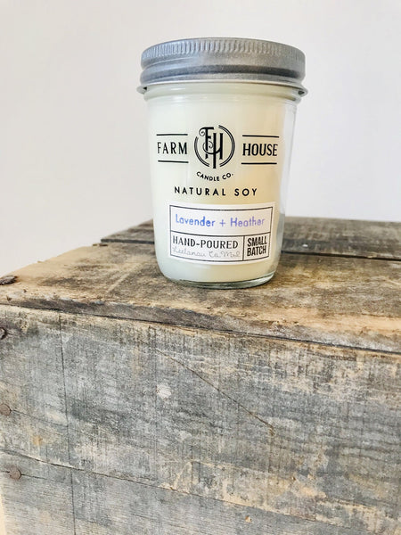 FH Candle Co. | Lavender + Heather Candle