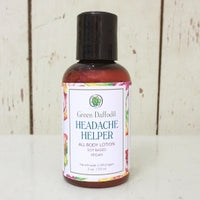 Headache Helper Mini Lotion Bottle