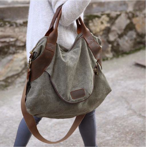 Bags & Luggage - Women's Bags Everyday Tote - Great Stuff OnlineThreaded Pear Army Green