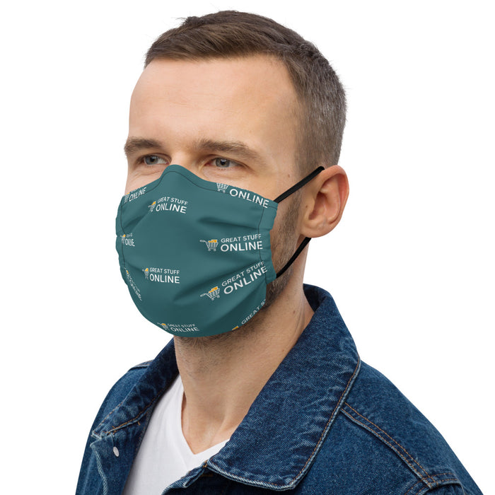 GSO All-Over Print Premium Face Mask - Great Stuff OnlineGreat Stuff Online
