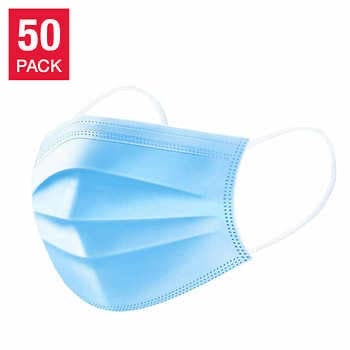 Masks 50 PCS Non-Medical Disposable 3-ply Protection Face Mask - Great Stuff OnlineGreat Stuff Online