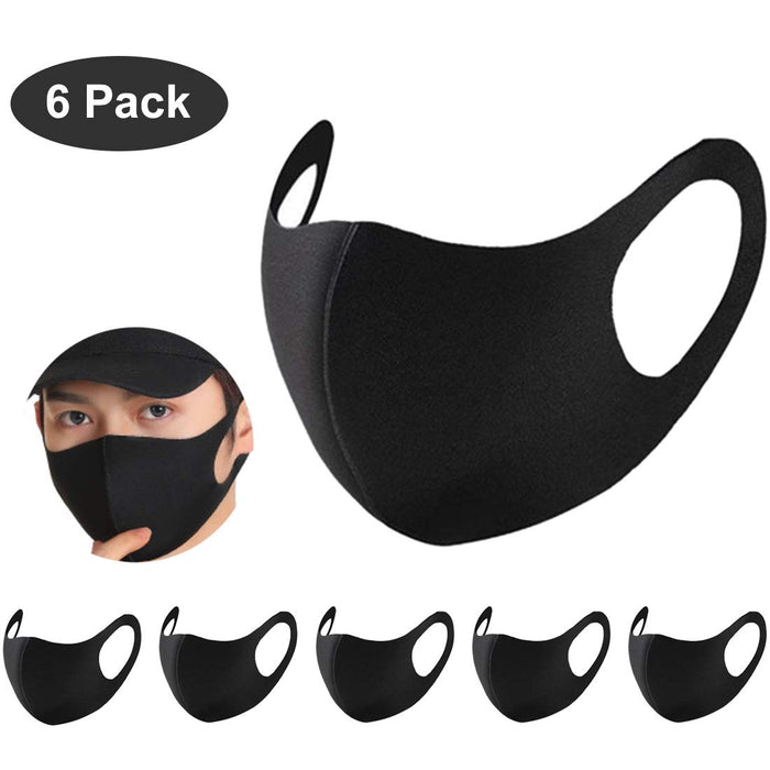 Masks 6Pcs Anti- Fog Face Masks - Great Stuff OnlineGreat Stuff Online