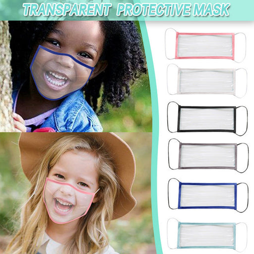 6 Pack of Clear Child Protective Face Mask - Great Stuff OnlineGreat Stuff Online