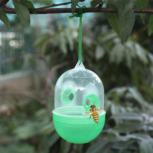 NEW 1 PC Green Color Bee Trapper Pest Repeller Killer Hanging On Tree Garden Tools Insects Flies Hornet Trap Catcher - Great Stuff OnlineGreat Stuff Online