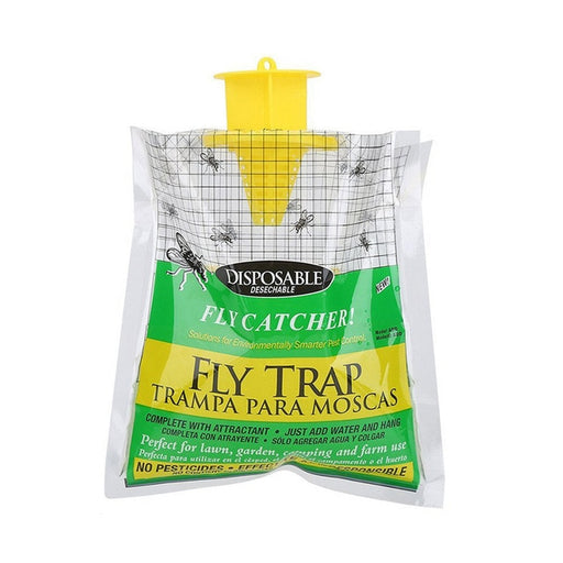 bee trap Upgraded Disposable Fly Trap 1/2/3/4/5 PC - Great Stuff OnlineGreat Stuff Online 1PC