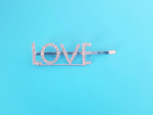 LOVE Hair Clip Set