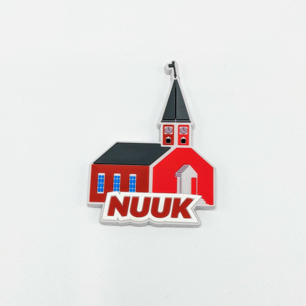 Nuuk Church Magnet