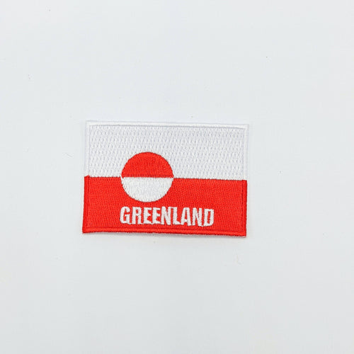 Greenland Flag Clothing Patch