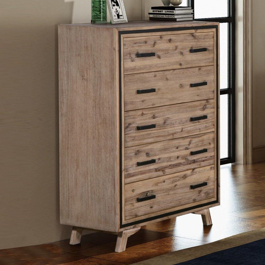 Decon 5 Drawer Tallboy - Housethings