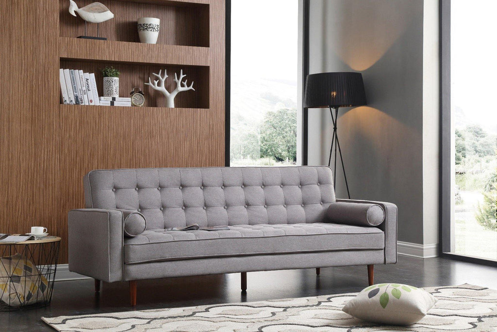 Sofa Irving Grey Standard Fabric - Housethings