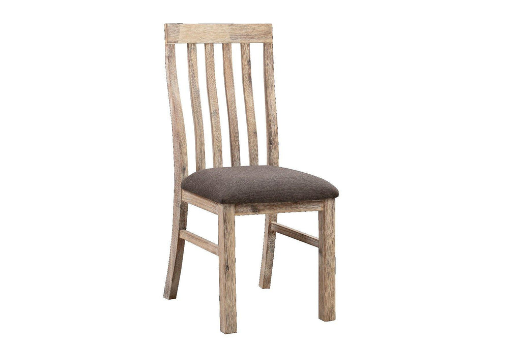 2x Java Dining Chair Oak - Housethings