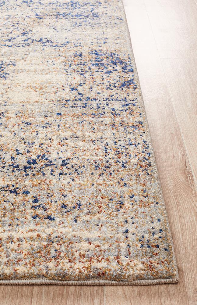 Eso-mina Blue Rug - Housethings