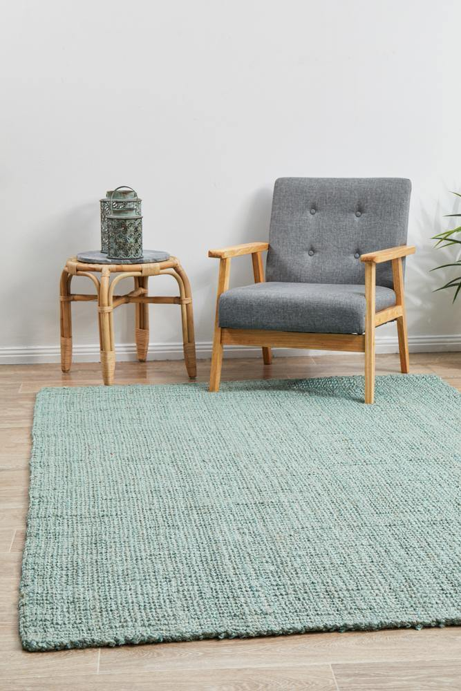 Atrium Barker Blue Rug - Housethings