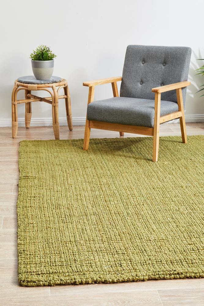 Atrium Barker Green Rug - Housethings