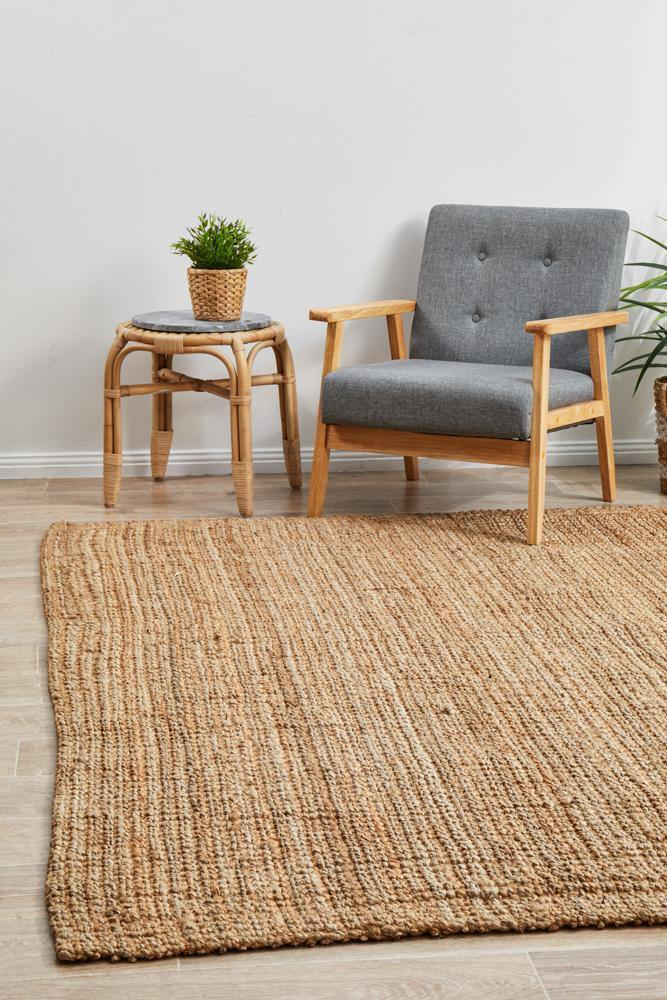 Earthly Terracotta Natural Rug - Housethings