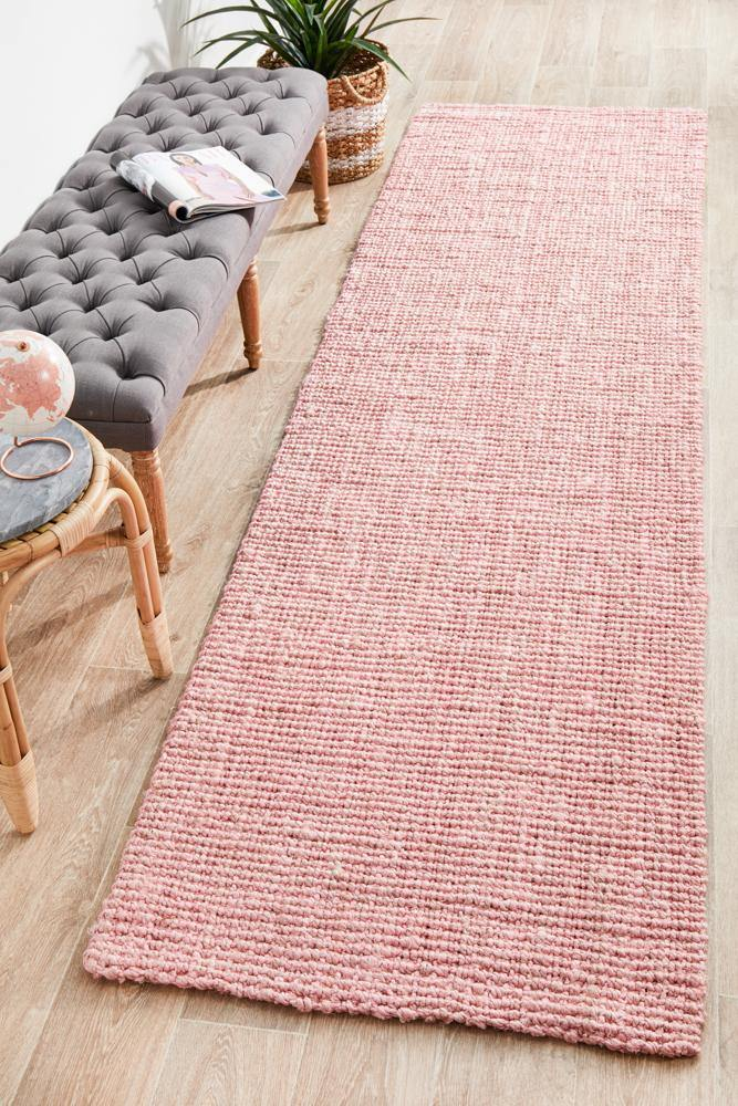 Atrium Barker Pink Runner - Housethings