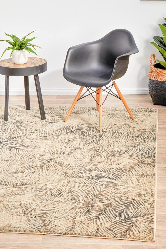 Dreamscape Artistic Nature Modern Charcoal Rug - Housethings