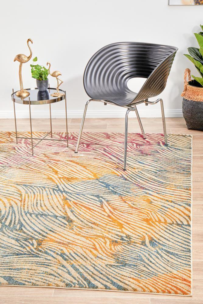 Dreamscape Surface Modern Prism Rug - Housethings