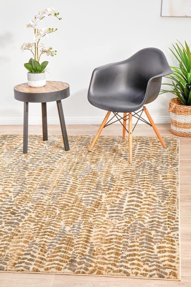 Dreamscape Progress Modern Sage Rug - Housethings