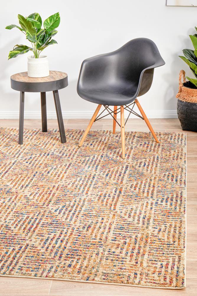 Dreamscape Movement Modern Multi Rug - Housethings