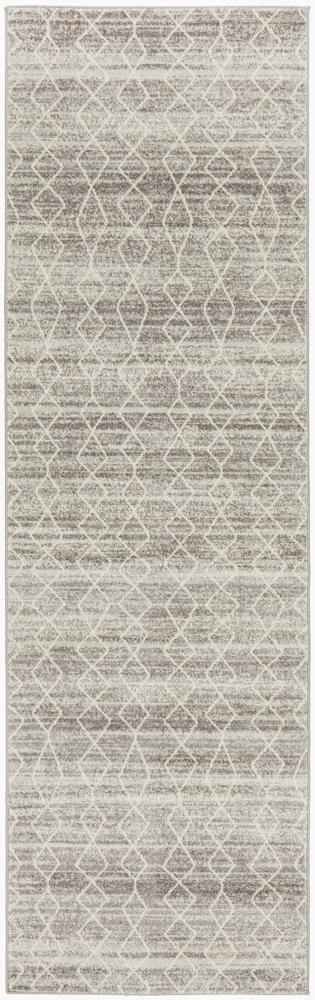 Evoke Remy Silver Transitional Runner Rug - Housethings