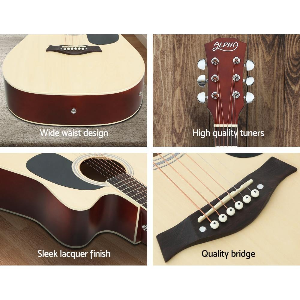 "41"" Inch Electric Acoustic Guitar EQ with Pickup - Housethings"