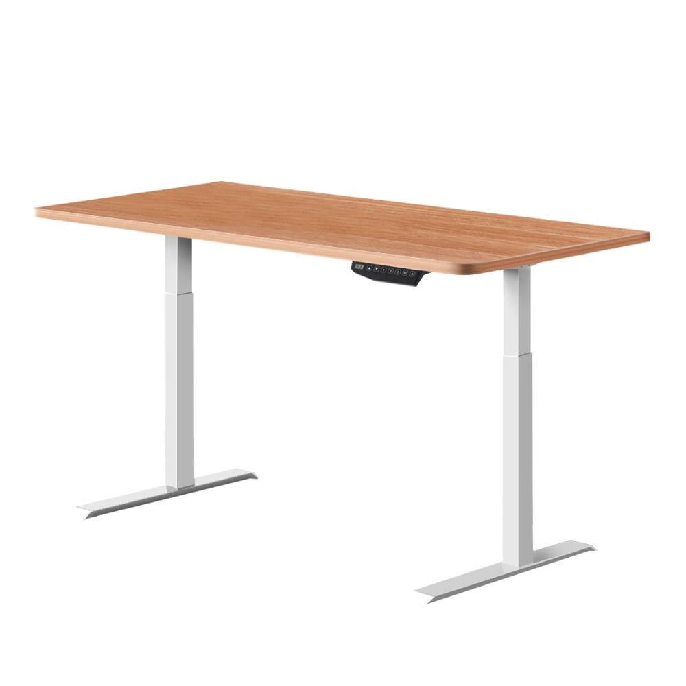 Motorised Sit Stand Desk Dual Motors 140cm - Housethings