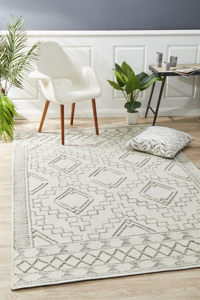 Salena Rug Ivory - Housethings