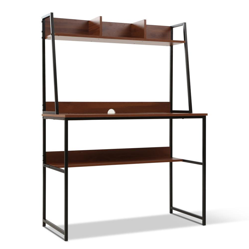 ELLIE Desk Study Table Workstation Bookshelf - Housethings