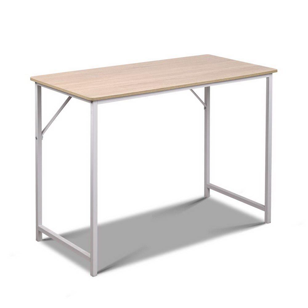 RAYNI Metal Desk - White - Housethings