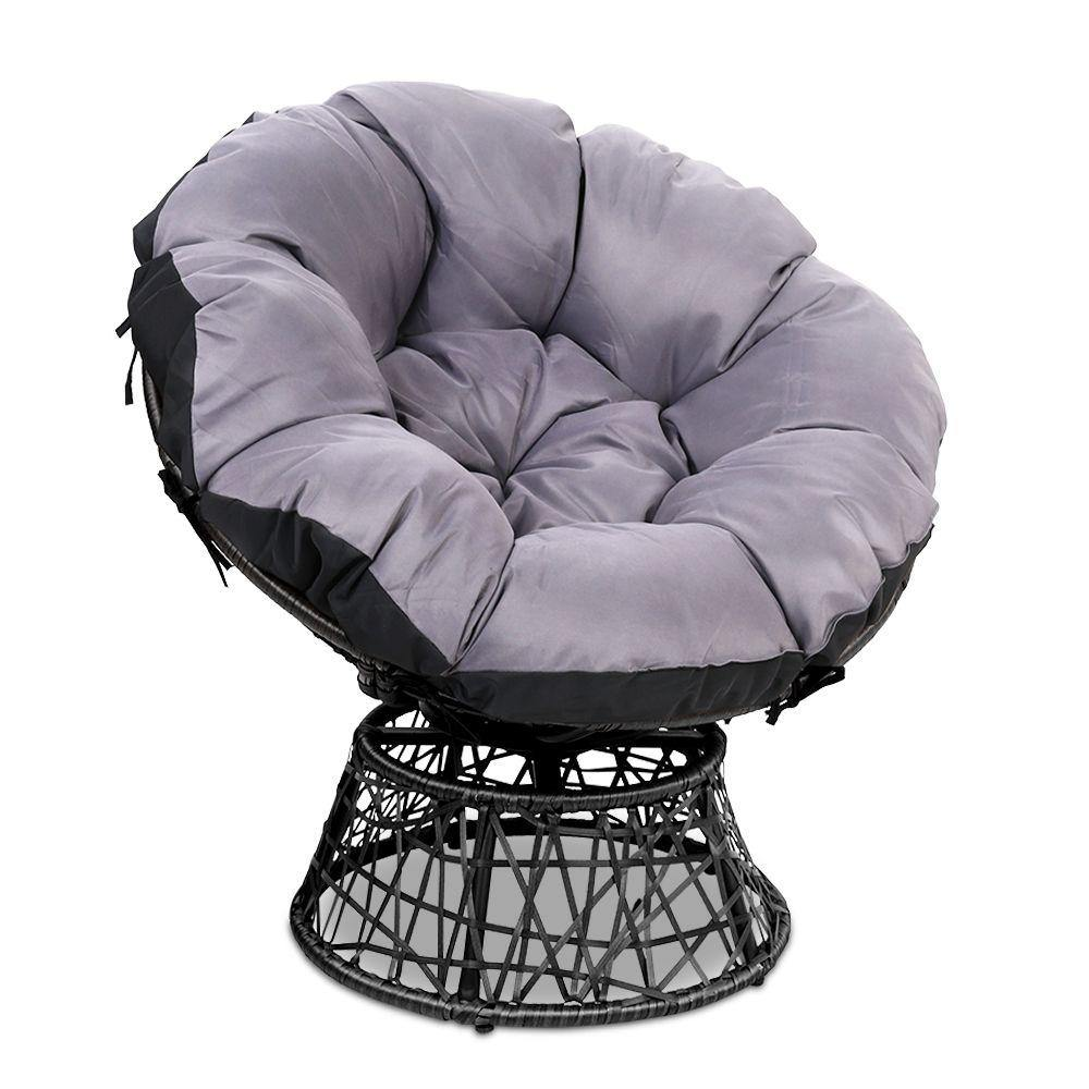 Papasan Chair - Black - Housethings