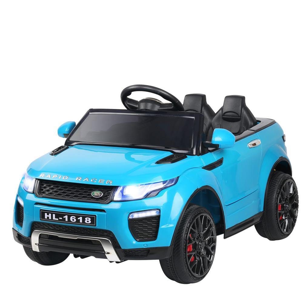 Range Rover Kids Ride On Car  - Blue - Housethings