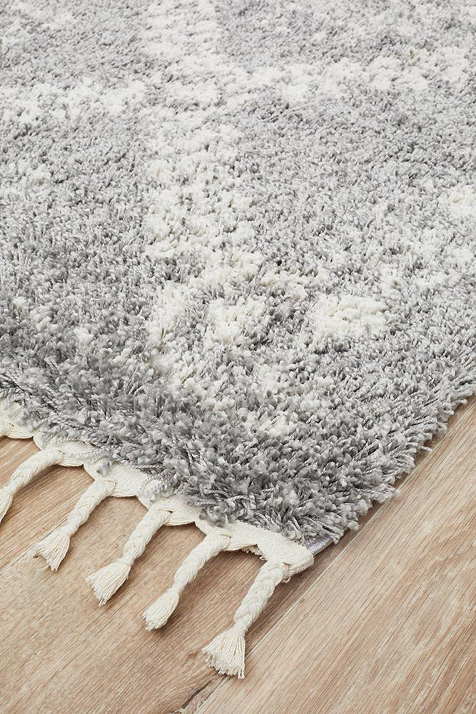 Temerra Ash Grey Rug - Housethings