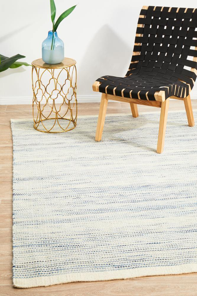Stockholm Fjordes Blue Rug - Housethings
