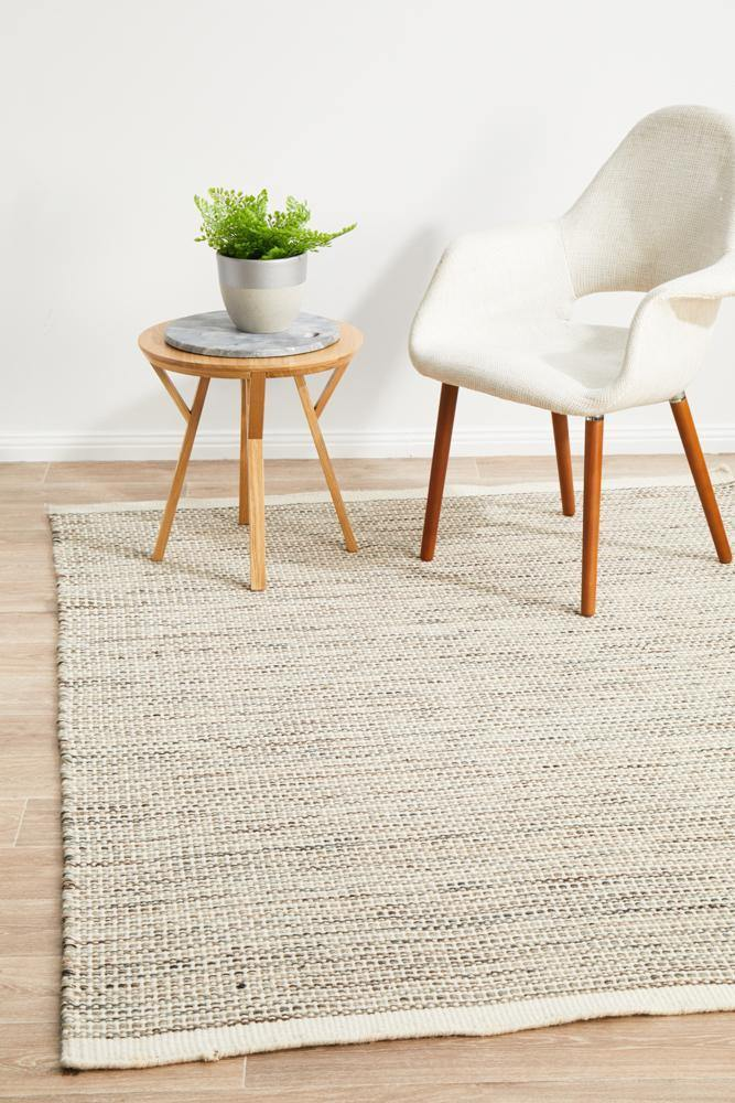 Stockholm Tawny Natural Rug - Housethings
