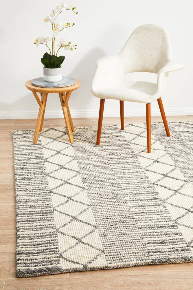 Skandinavian 316 Grey Rug - Housethings