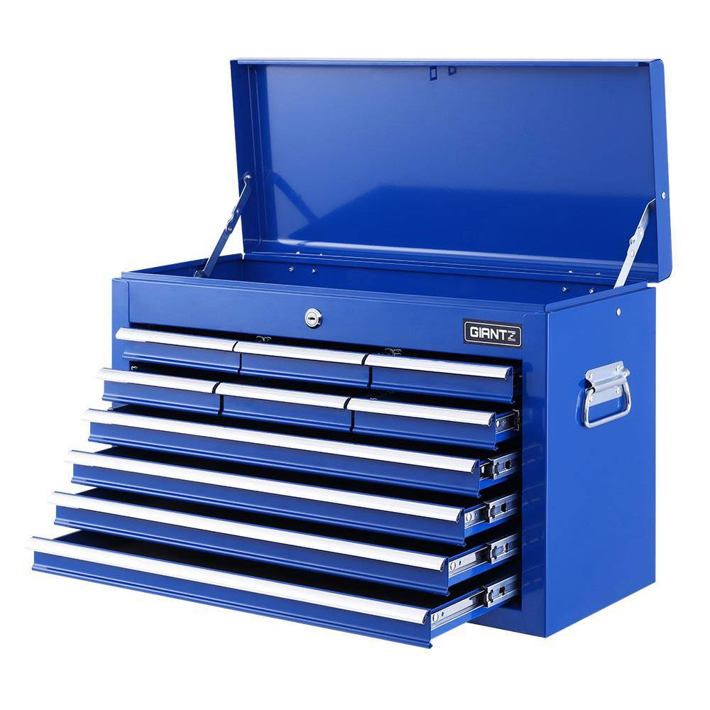 10-Drawer Tool Box Blue - Housethings