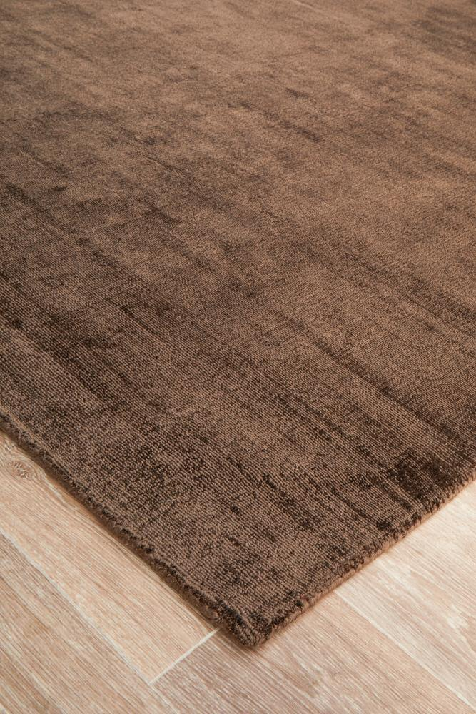 Twilight Collection Brown Rug - Housethings