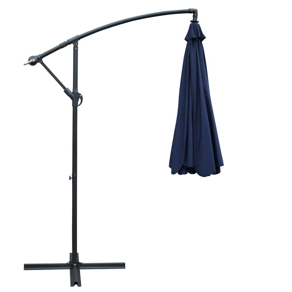 Instahut 3M Outdoor Umbrella - Navy - Housethings