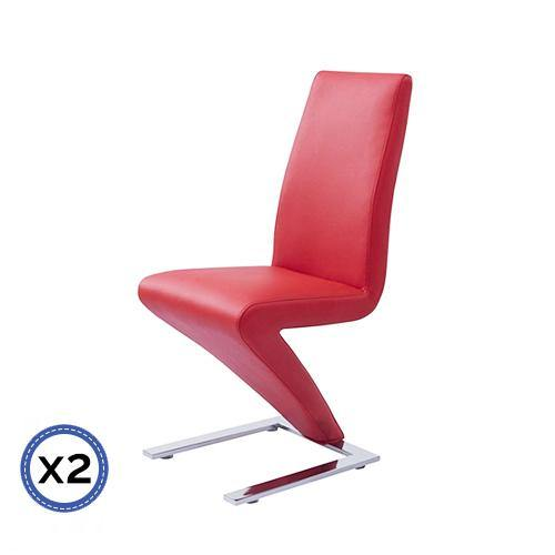 2 X Gravity Chair Red - Housethings