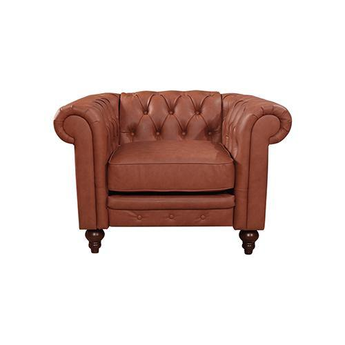 Laeticia 1 Seater Brown - Housethings
