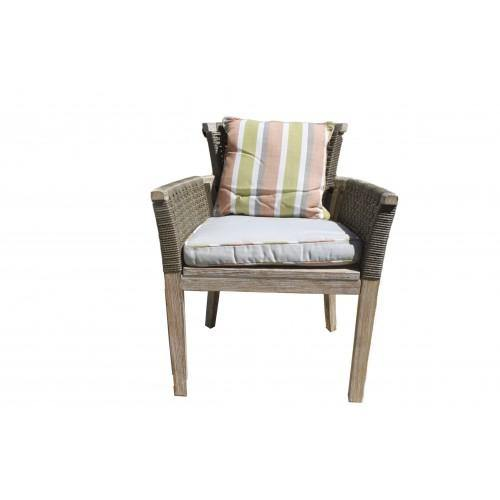 Highback Armchair Wicker - Housethings