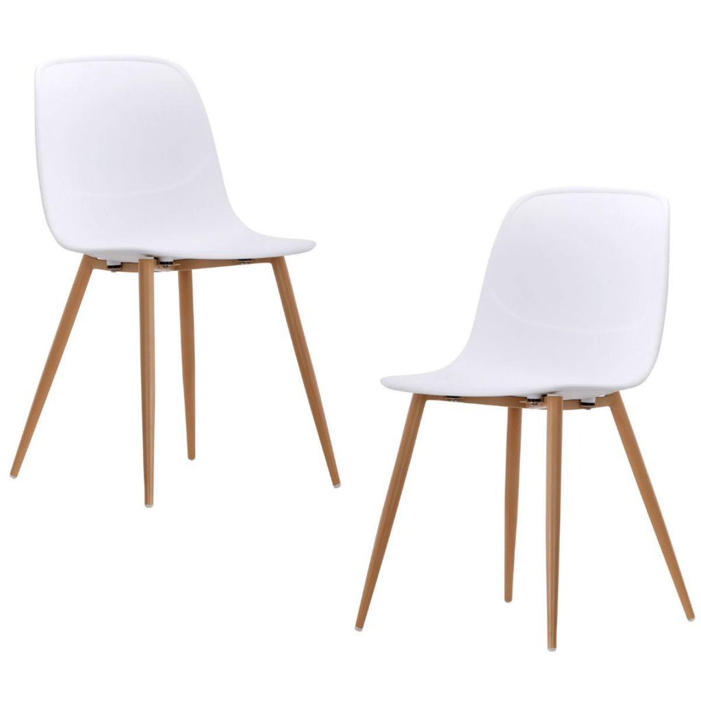 Erin White Versatile Dining Chair Set of 2 - Housethings