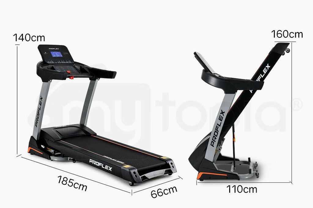 PRESALE Treadmill Running Machine Foldable Fitness Home Large Auto Incline Gym
