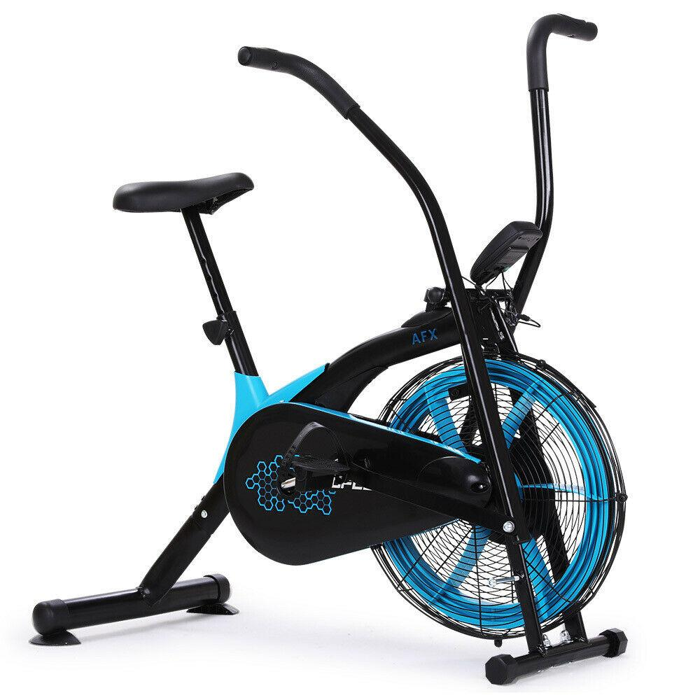 PRESALE Air Bike Fan Resistance Exercise Fitness Bicycle Black Pulse Home Gym