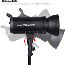 Load image into Gallery viewer, GODOX SK400II 800W 2.4G Photography Flash Studio Strobe Kit