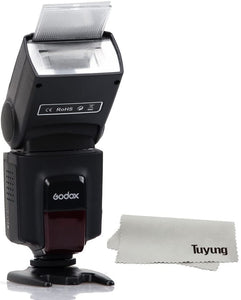 Roll over image to zoom in Godox Thinklite Camera Flash TT520II with Build-in 433MHz Wireless Signal for Canon Nikon Pentax Olympus DSLR Cameras Flash