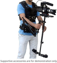 Load image into Gallery viewer, FLYCAM Comfort Stabilizing Arm & Vest for Flycam 5000/3000/DSLR Nano Handheld Camera Video Steadycam Stabilizer up to 7kg | Stabilization Body Mount System for camcorders Stabilization (CMFT-AV)
